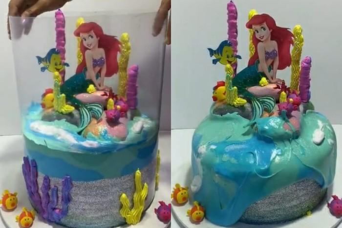 Tsunami Cake yang Jadi Tren
