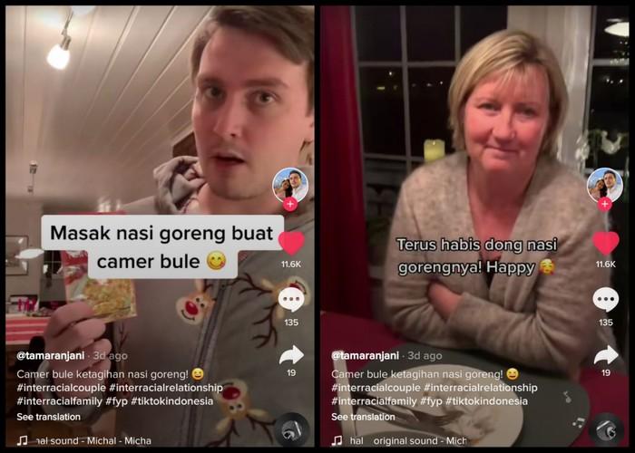 Wanita Ini Bikin Keluarga Sang Pacar dari Norwegia Doyan Makanan Indonesia