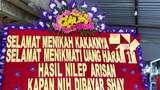 Karangan Bunga Tagih Utang Rp 1 M ke Nikahan Viral, Pengirim Dipolisikan