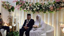 Hari Bahagia Din Syamsuddin Nikahi Rashda Diana dengan Mahar Rp 3.012.021