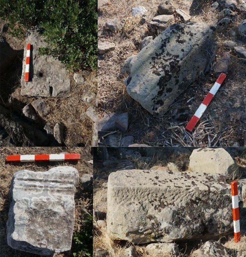 Reruntuhan kuil Aphrodite di Turki