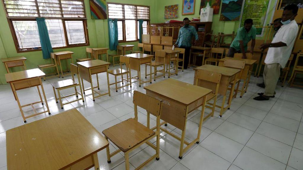 SMP di Aceh Bersiap Jelang Pelaksanaan Sekolah Tatap Muka