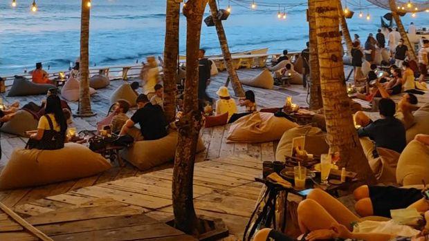 Bali saat libur akhir tahun 2020.