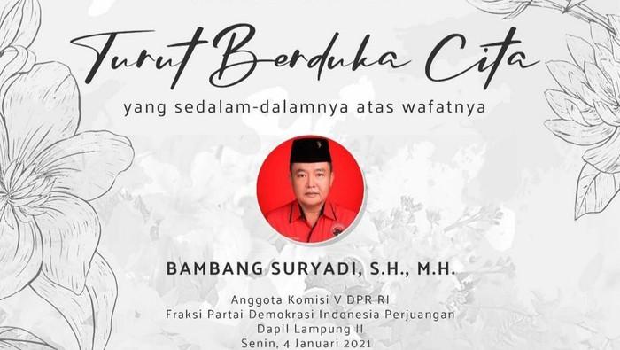Bambang Suryadi (Dok. Istimewa).
