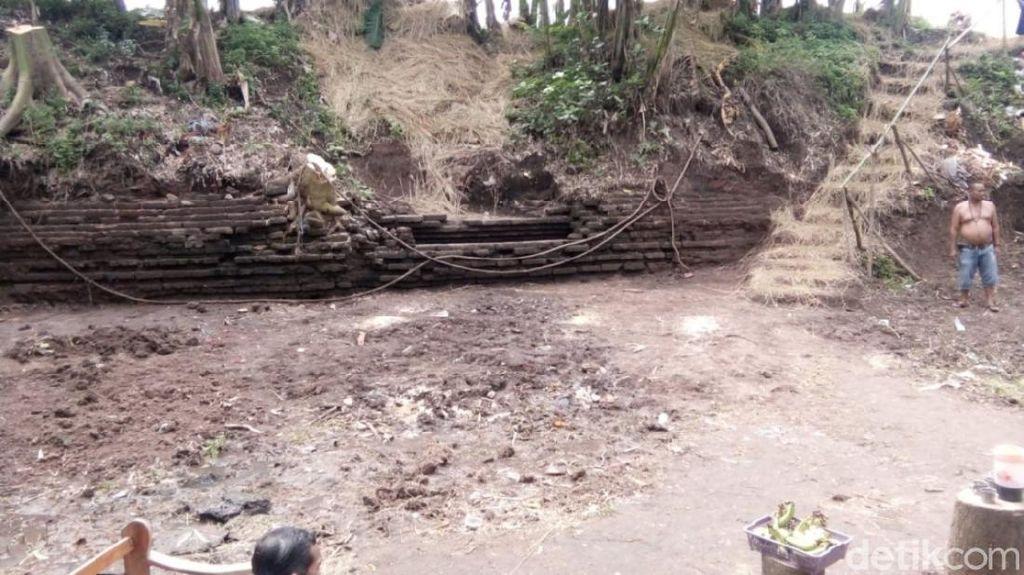 Objek Cagar Budaya Struktur Bata Kuno Ditemukan Lagi di Pasuruan