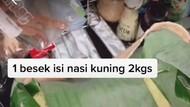 Bawa Banyak Nasi Saat Naik Pesawat, Netizen : Mirip Emak Gue!