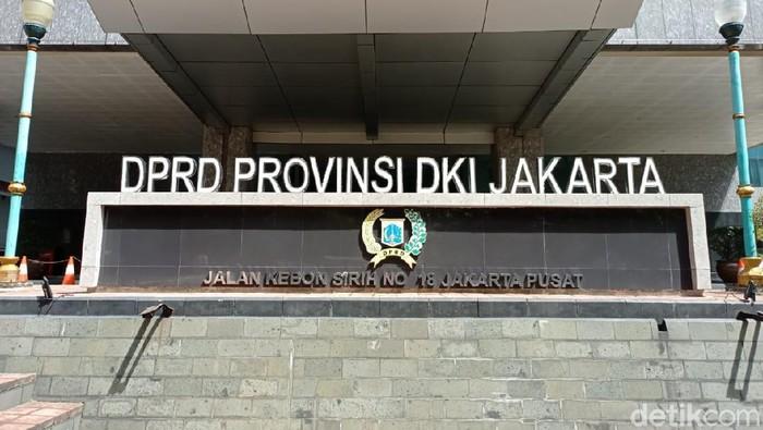 Ilustrasi Gedung DPRD DKI Jakarta di Jl Kebon Sirih
