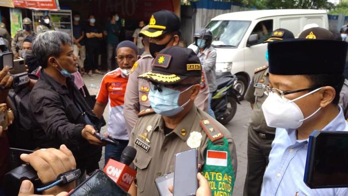 Kasatpol PP Medan, M Sofyan (detikcom)