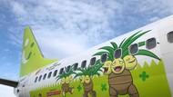 Potret Pesawat Bertema Pokemon yang Kawaii