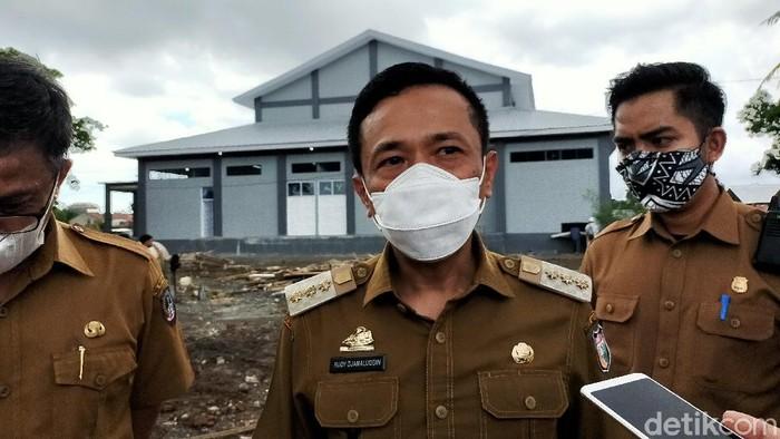 Pj Wali Kota Makassar, Rudy Djamaluddin (Ibnu Munsir/detikcom)