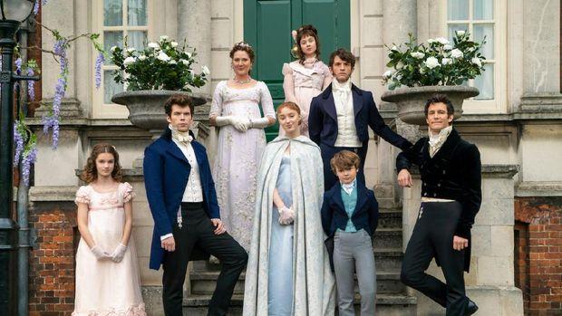 Serial Televisi Bridgerton Diadaptasi dari Novel Julia Quinn