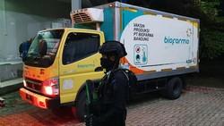 Vaksin COVID-19 Sinovac sudah tiba di gudang farmasi Dinas Kesehatan Jawa Tengah, Senin (4/1/2021). Dalam tahap ini Jateng menerima 62.560 dosis vaksin.
