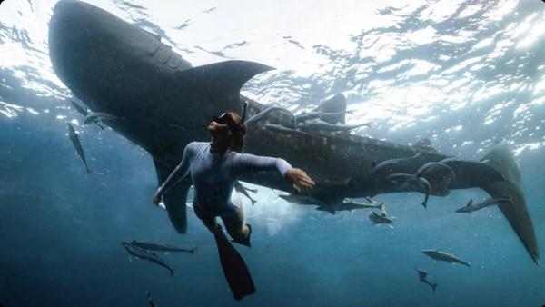 Spot favorit untuk berang dengan whale shark adalah Kecamatan Talisayan. (HvTrip)