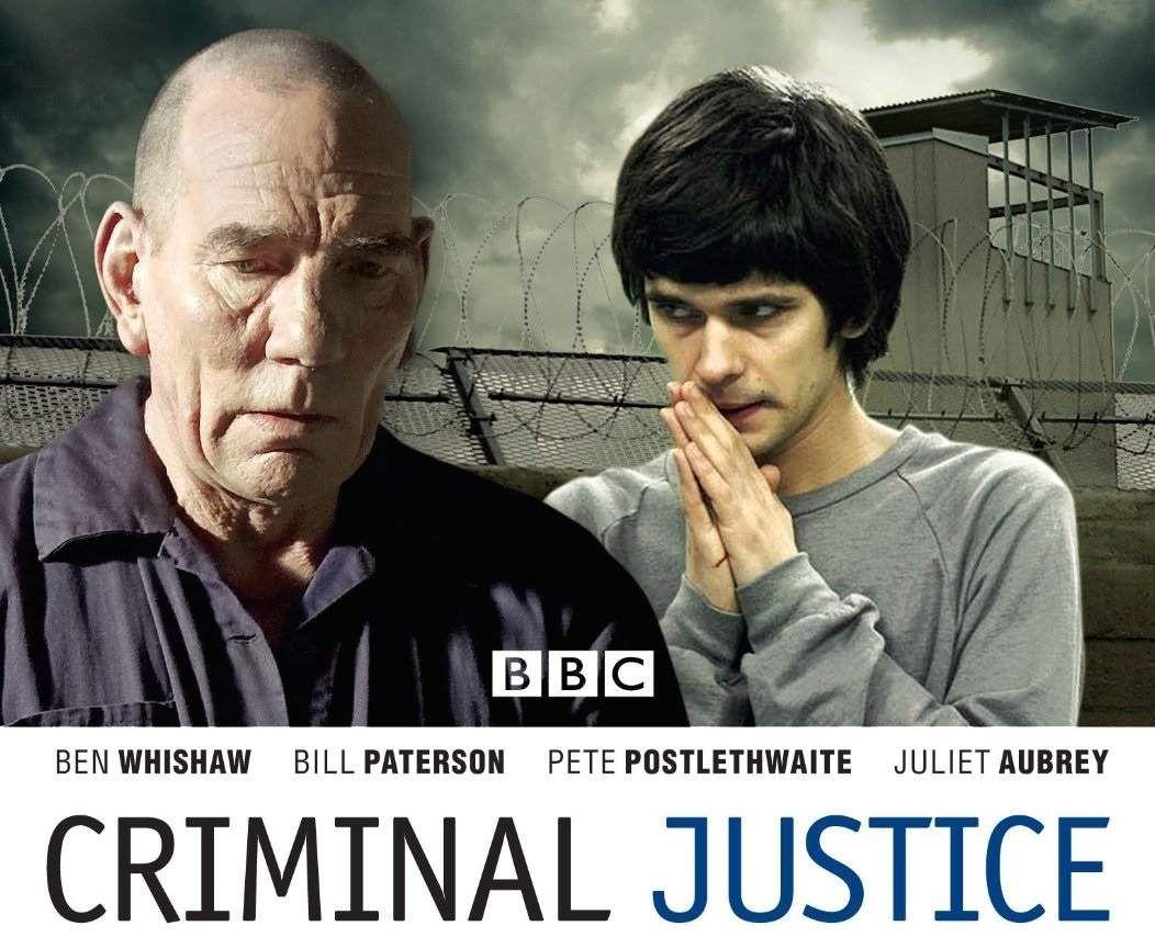 Poster serial BBC Criminal Justice