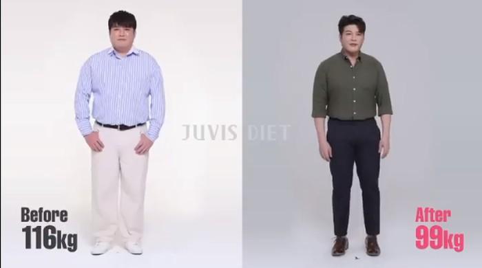 Artis Korea yang jalani Juvis Diet