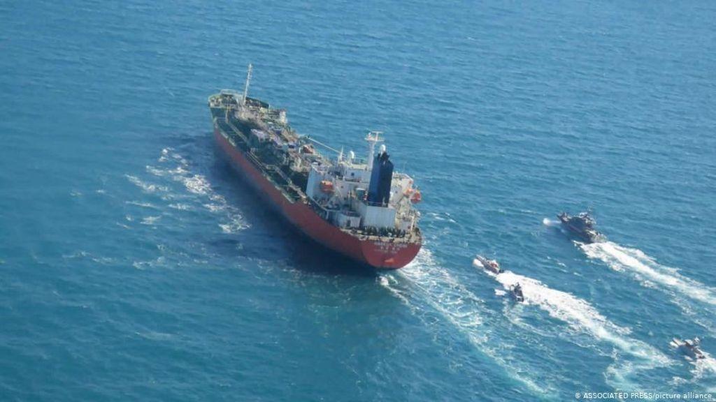 Iran Bebaskan Kapal Tanker Korsel yang Ditahan 3 Bulan Lalu