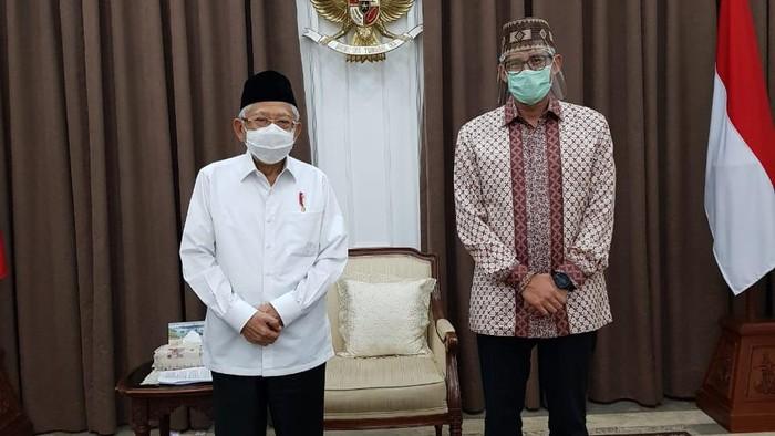 Maruf Amin bertemu Sandiaga Uno (Foto: dok. Istimewa)