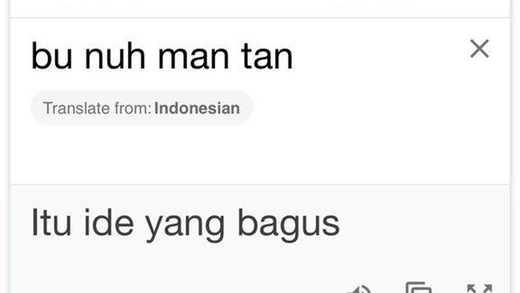 10 Terjemahan Google Translate Kocak di Luar Dugaan, Auto Ketawa Nangis
