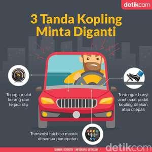 3 Tanda Kopling Mobil Minta Diganti