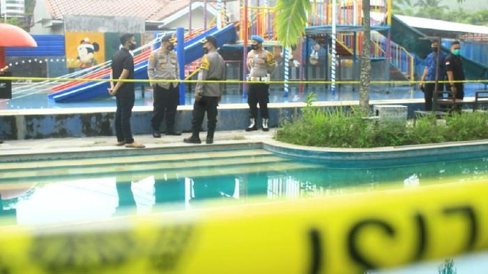 Lokasi tewasnya 2 bocah di Waterpark