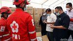 Momen JK Cek Kesiapan dan Stok Gudang Darurat COVID-19