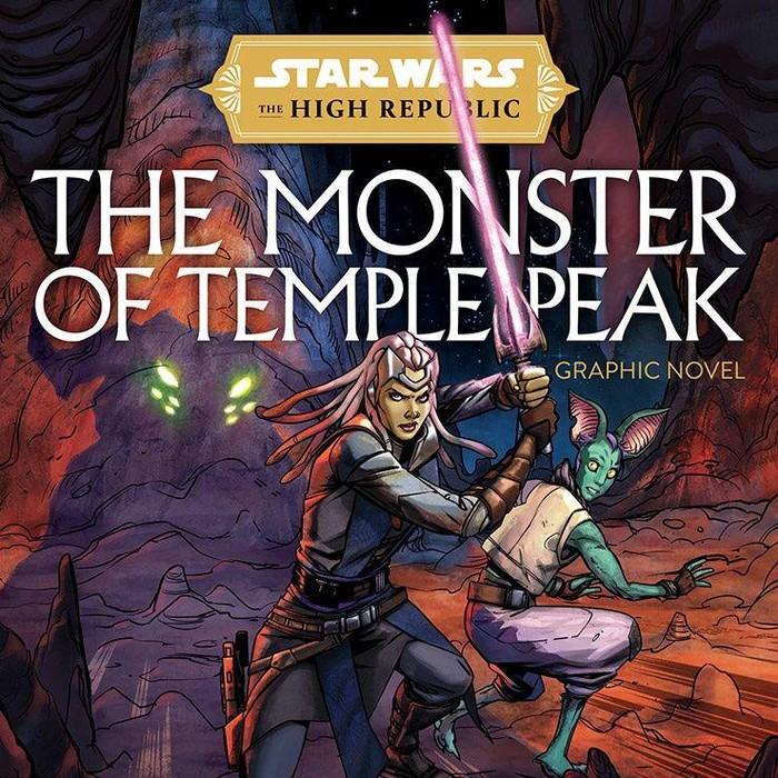 Novel Grafis Star Wars: The Monster of the Temple Peak