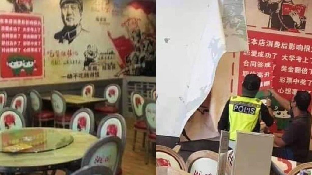 Pakai Dekorasi Tema Komunis, Restoran Ini Diserbu Polisi