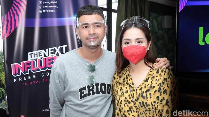 Raffi Ahmad dan Nagita Slavina saat ditemui di kawasan Antasari.