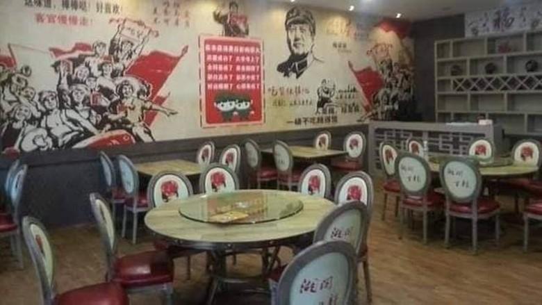 Restoran viral karena tema komunis