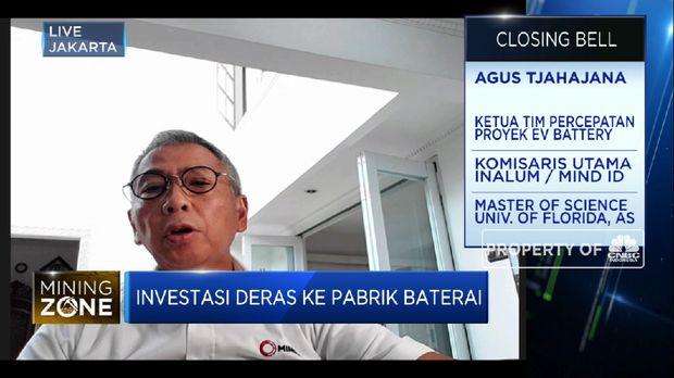 Sambut Investasi Baterai Listrik, IBH Siap Bermitra Dengan LG (CNBC Indonesia TV)