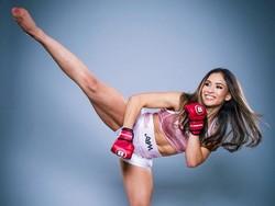 Foto: Ini Valerie Loureda, Petarung MMA Wanita Terseksi