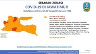 3 Daerah di Jatim Ini Masih Berstatus Zona Merah COVID-19
