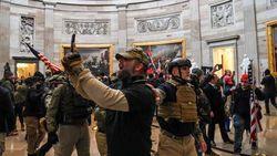 Biden Kritik Sikap Lunak Polisi AS terhadap Massa Trump di Capitol