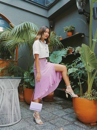baju warna lilac