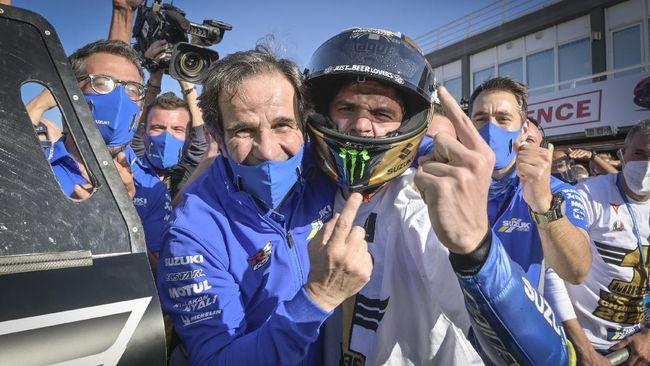 Tak Betah di Formula 1, Davide Brivio Mau Balik ke Tim MotoGP Suzuki
