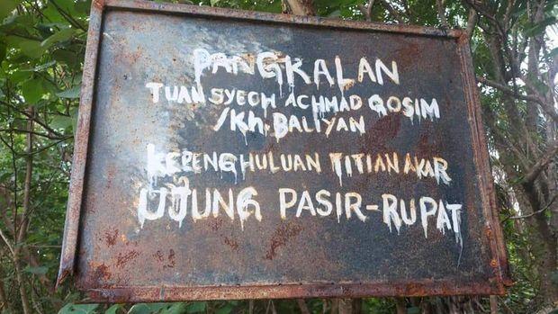 Desa Titi Akar di Rupat Utara.