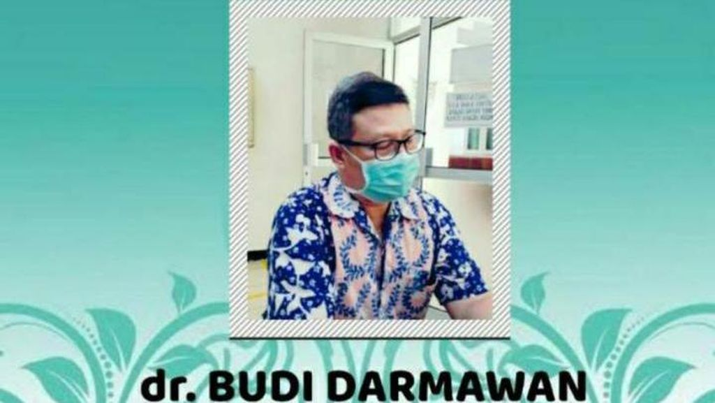 Dikenal Gigih Tangani COVID-19, dr Budi di Rembang Wafat Kena Corona