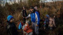 Hindari Dingin, Migran Bosnia Nekat Lintasi Perbatasan Uni Eropa