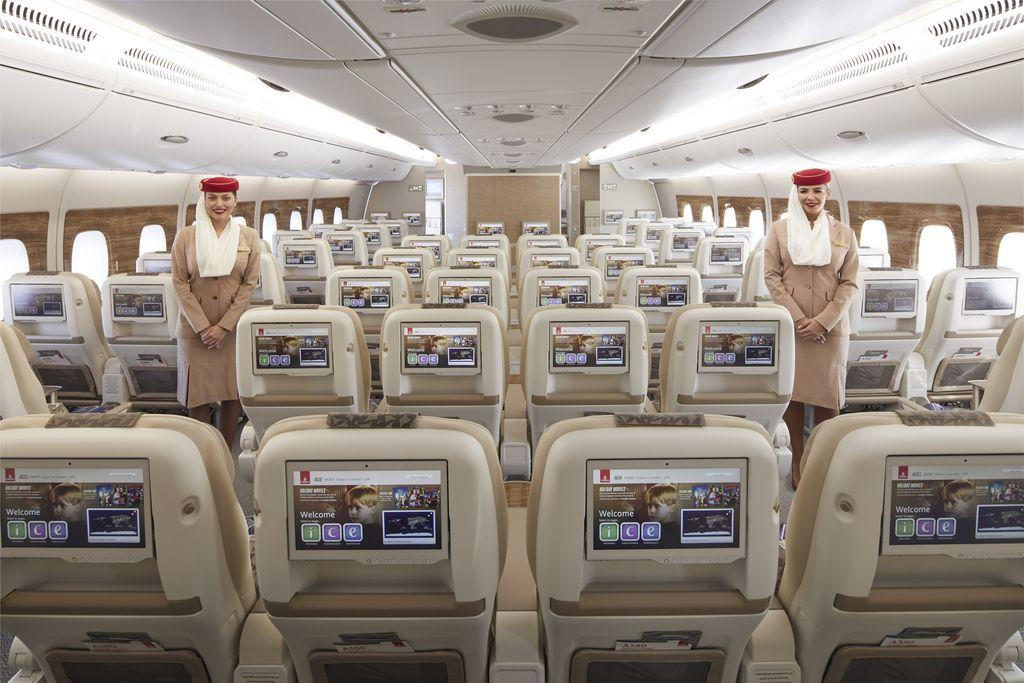 Kabin ekonomi premium Emirates