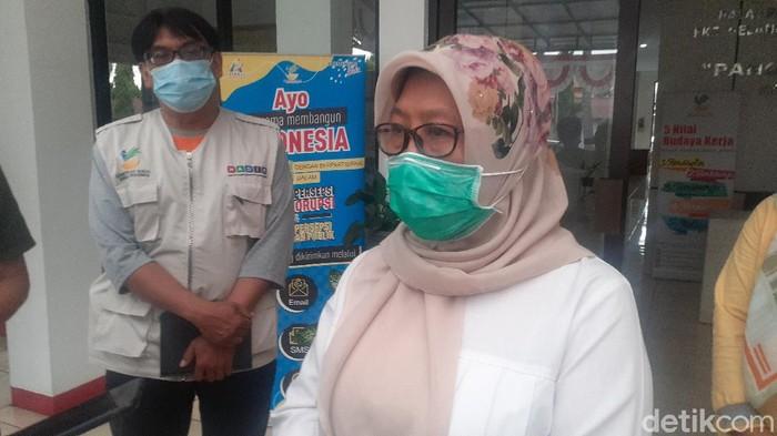 Kepala BRSEGP Pangudi Luhur di BRSEGP Pangudi Luhur Bekasi, Komplek Depsos, Kokom Komalawati (Afzal/detikcom)