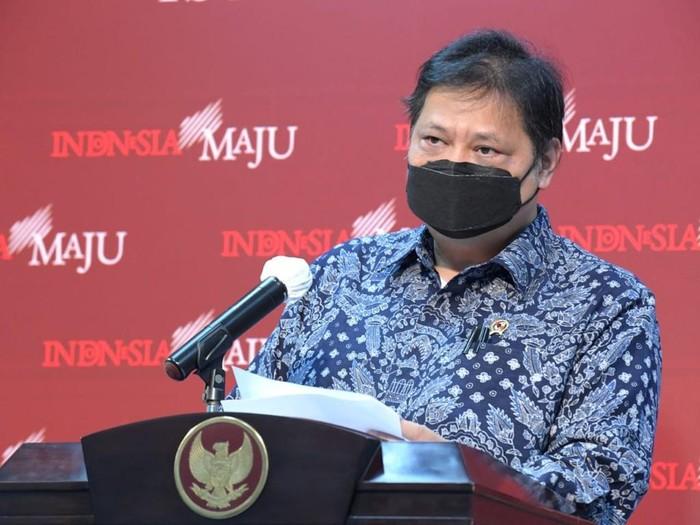 Menko Perekonomian/Ketua Komite Penanganan COVID-19 dan Pemulihan Ekonomi Nasional, Airlangga Hartarto