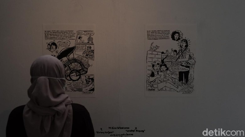 Pameran Toko Buku Maranatha di Bandung.
