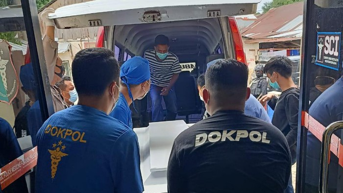 Pemakaman 2 anggota JAD yang ditembak mati di Makassar (dok. Istimewa).