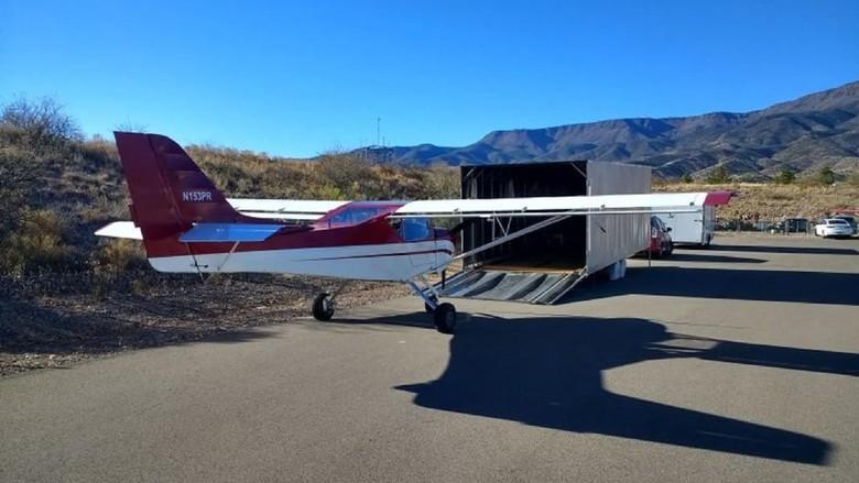 Momen Tahun Baru di Arizona, Amerika Serikat (AS) berakhir pahit karena hilangnya sebuah pesawat. Polisi setempat menduga pesawat itu dicuri.