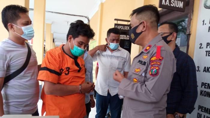 Polisi tangkap residivis pencuri kotak infak di Medan (dok. Istimewa)