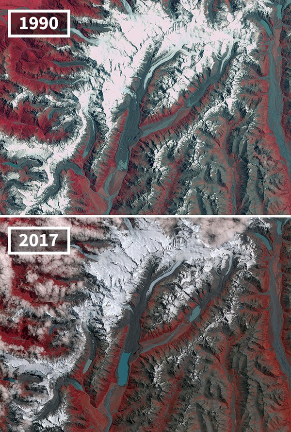 Dalam 27 tahun, gletser di Selandia Baru mengering.