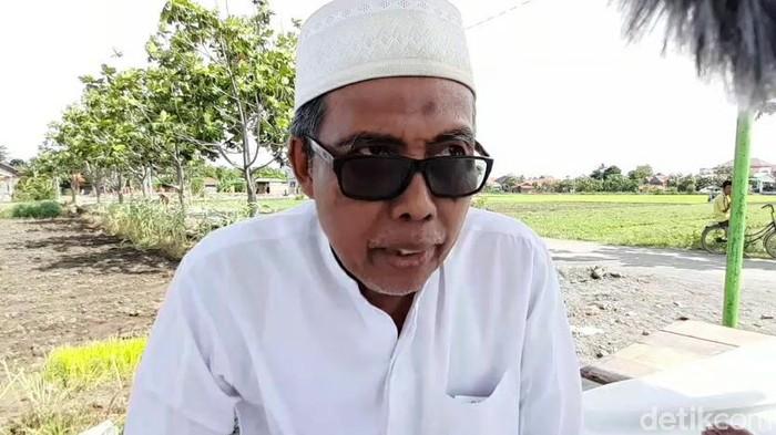 Rais PBNU KH Subhan Makmun di kompleks Ponpes Assalafiyah, Kabupaten Brebes, Jawa Tengah, Kamis (7/1/2021).