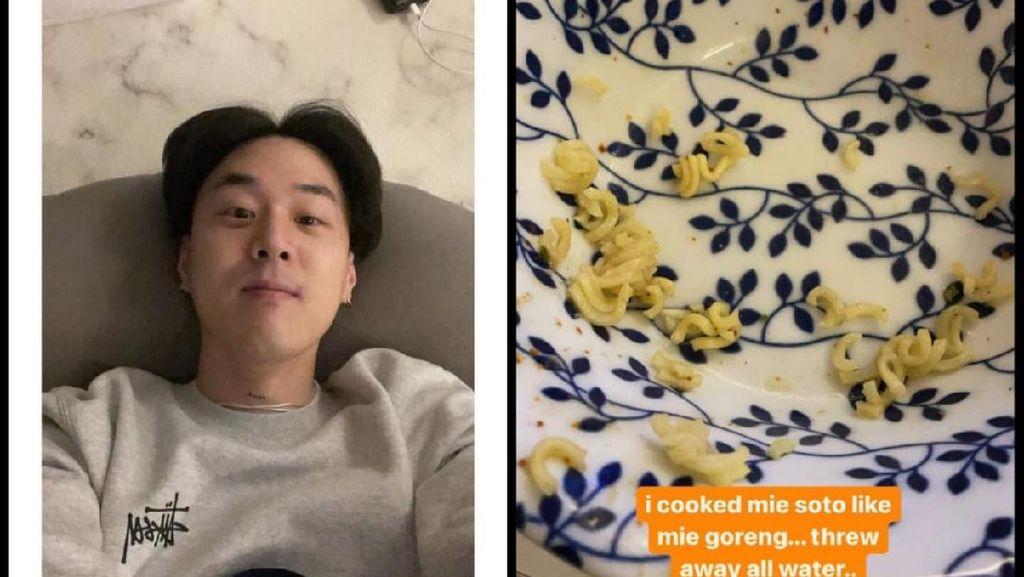 Rapper Korea Masak Indomie Rebus Jadi Goreng: Enak Tapi Keasinan
