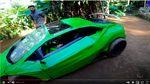 Replika Lamborghini Ini Terbuat dari Barang Rongsokan