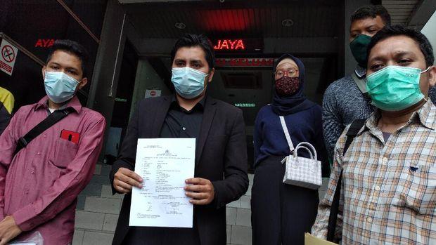 Sejumlah Korban Laporkan Grab Toko ke Kepolisian. (CNBC Indonesia/Novina Putri Bestari)
